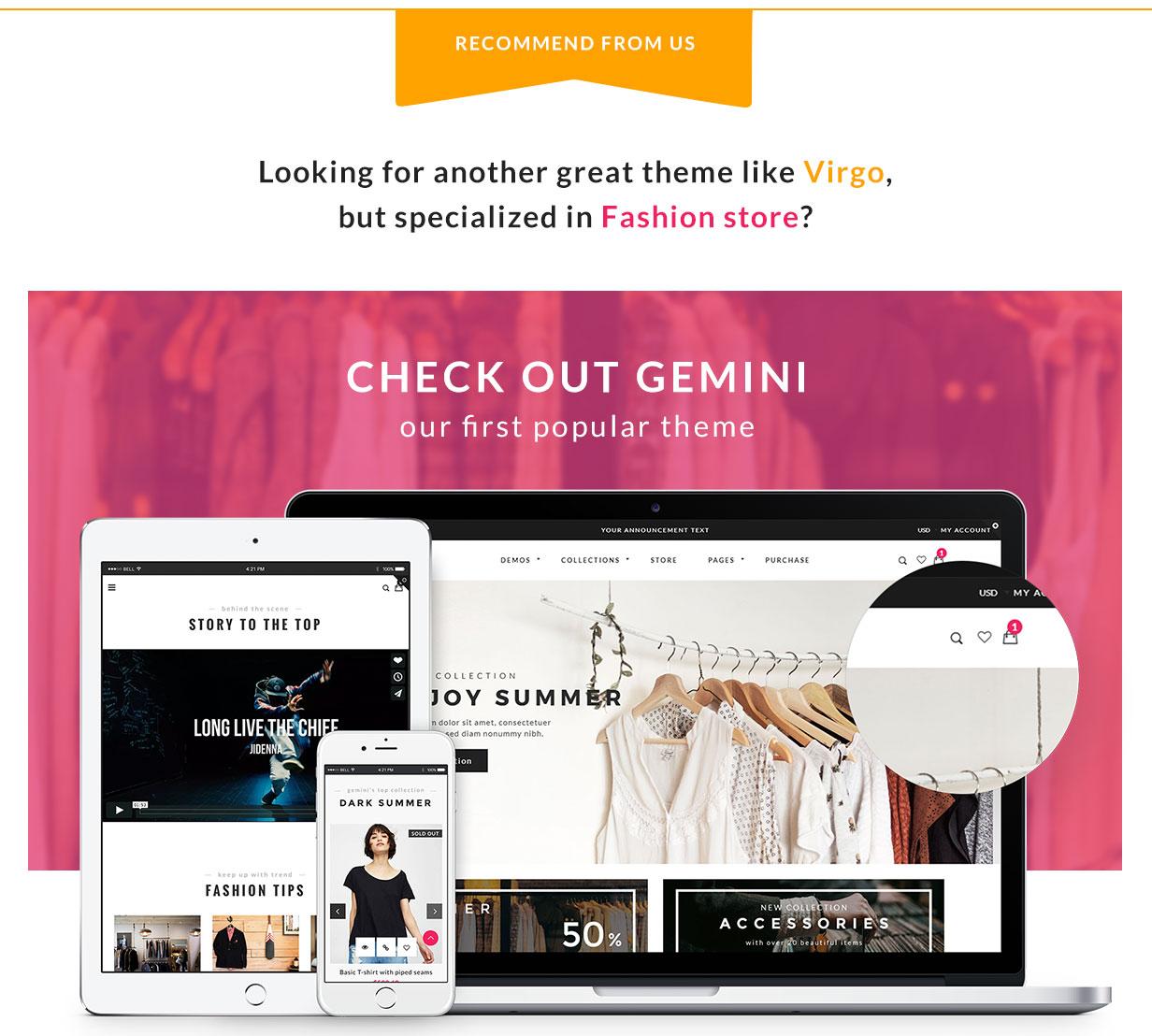 Virgo - Shopify Furniture, Accessories, Bouquet, Beauty, Multipurpose theme - 24