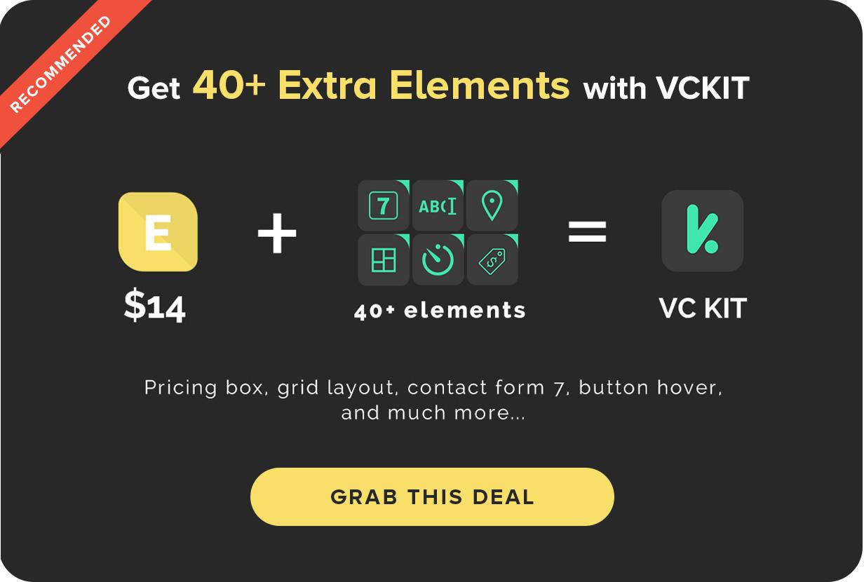 Elegant Icon Box | Visual Composer Add-on | WordPress plugin 1
