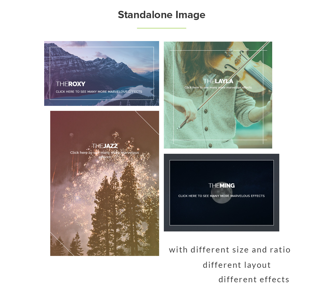 Marvelous Hover Effects | Visual Composer Add-ons | WordPress plugin 7