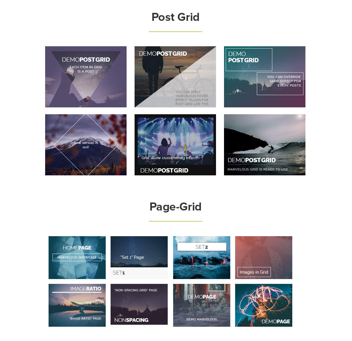 Marvelous Hover Effects | Visual Composer Add-ons | WordPress plugin 8